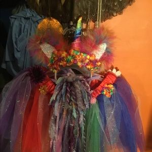 Handmade Unicorn Costume